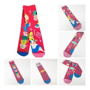 Disney Accessories - 🆕 | Disney | Alice in Wonderland (2 pairs) Socks